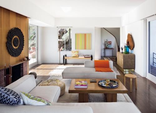 Palm Springs Modernist Paradise Living Room