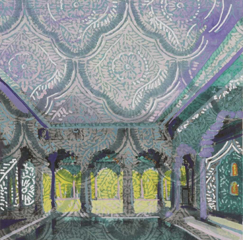 Lee Essex Doyle Travel Paintings Echoes of India
