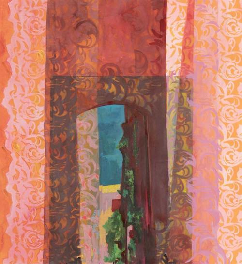 Lee Essex Doyle Travel Paintings Hockneys View