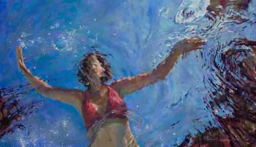 Underwater Artwork By Michele Poirier Mozzone