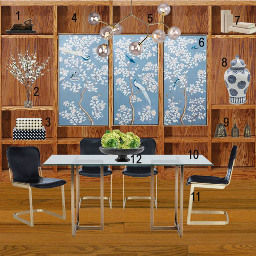 Arazi Levine Dining Room Makeover