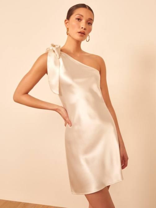 STYLECASTER | wedding dress trends 2021 | little white dress