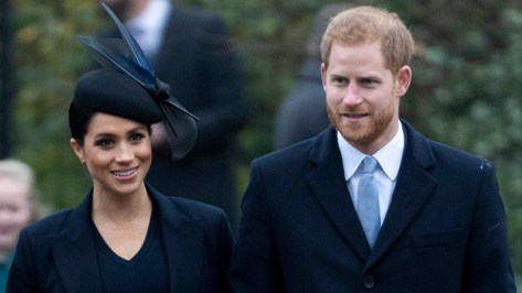 Meghan Markle & Prince Harry Clap Back at the Queen Saying They Can't Be of 'Public Service' Without the Royals