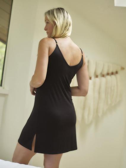 Skivvies slip dress 17 Slinky Slip Dresses You Can Rock Outside The Bedroom