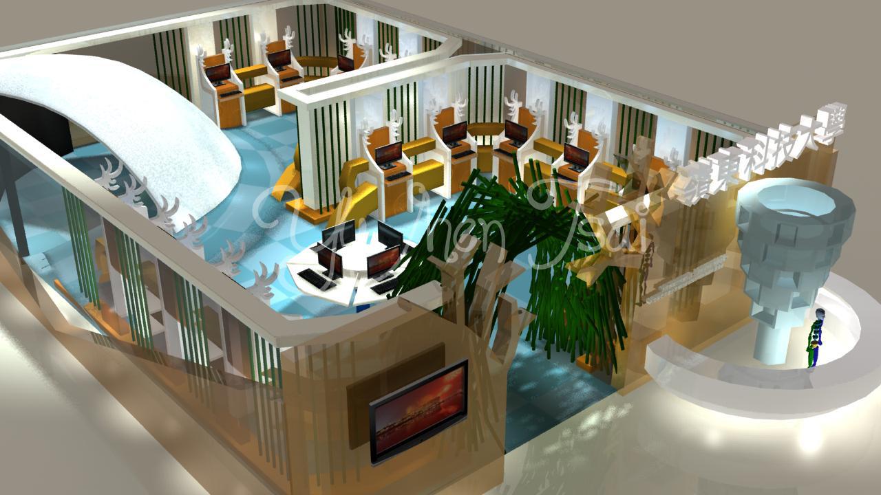 2013 新一代展場設計-3D示意圖 | Tsai Yu-Jhen *( ω )*//