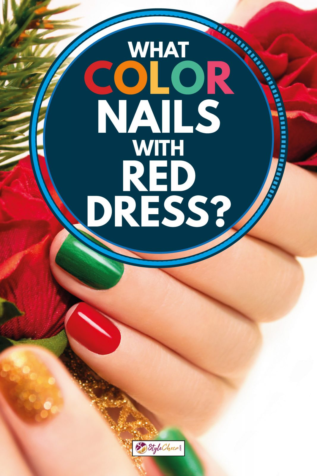 Nails For Red Dress : nails, dress, Color, Nails, Dress?, StyleCheer.com