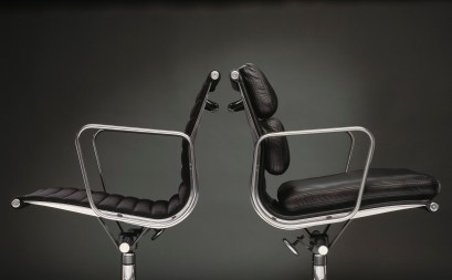 Eames Aluminum Group Management Chairs