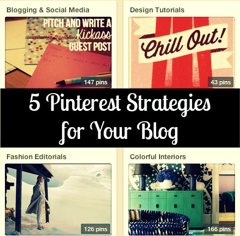 Pinterest strategies for blog