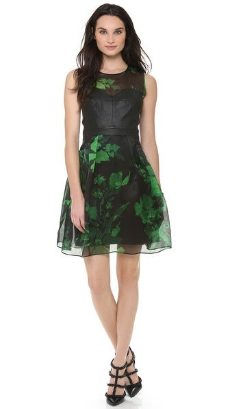 emerald milly dress