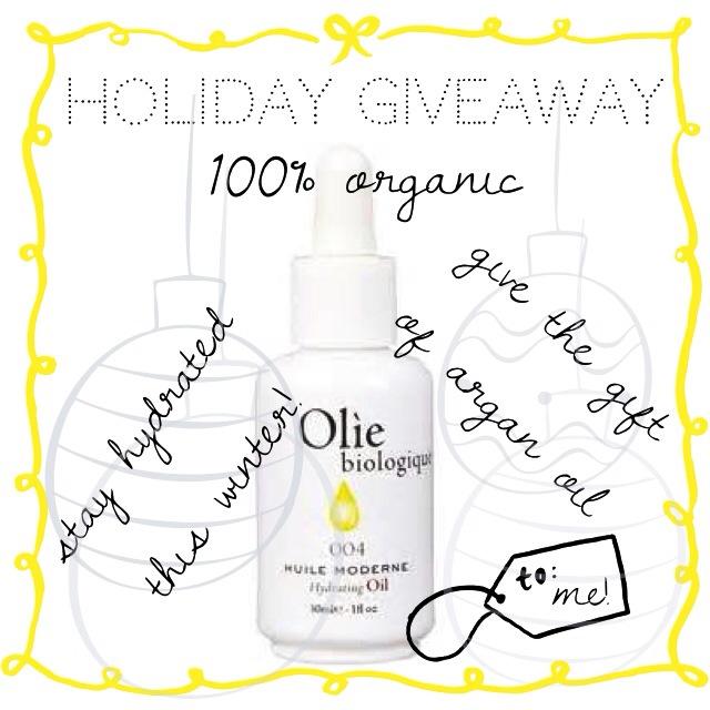 olie biologique_giveaway