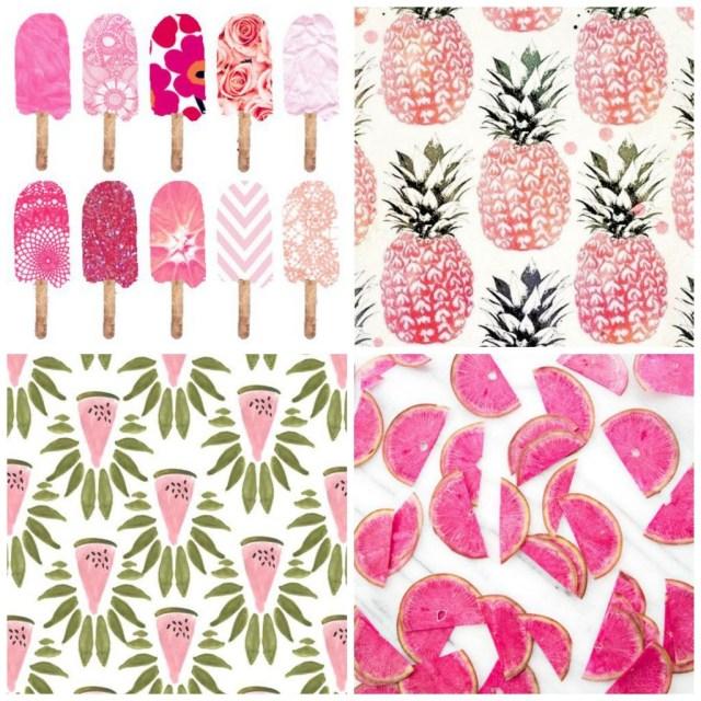 food prints_spring trend