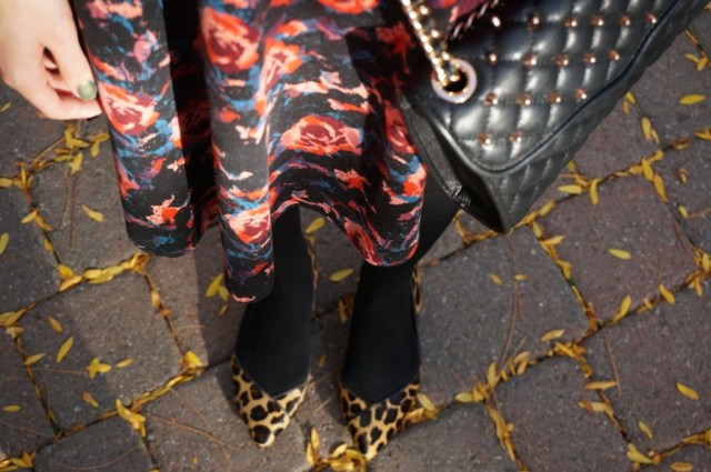 florals and leopard