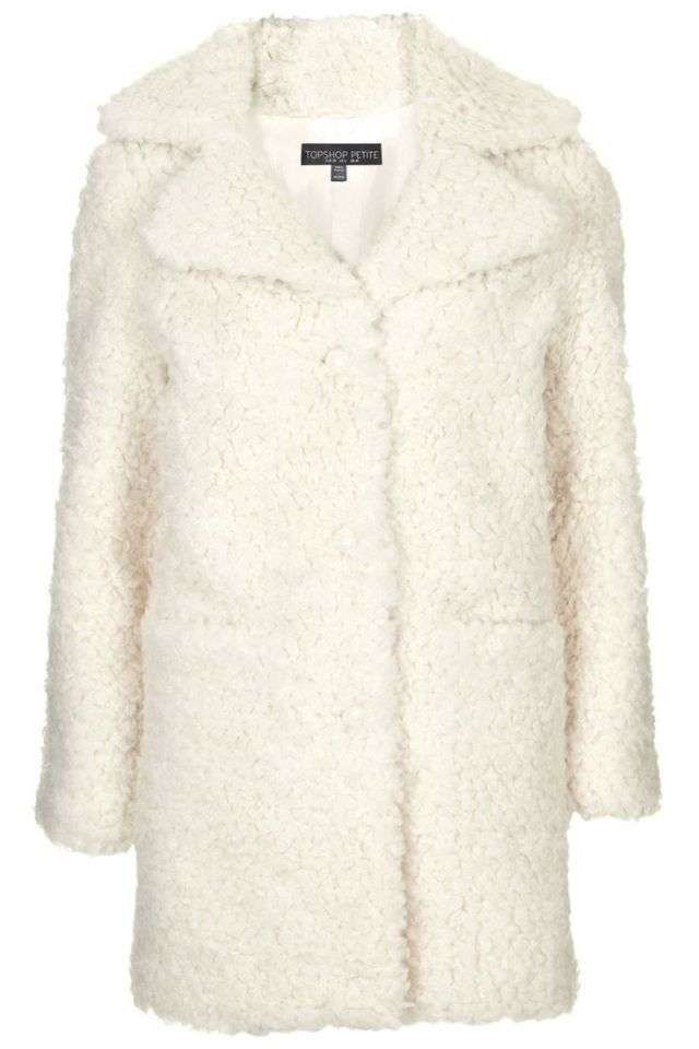 fuzzy teddy coat