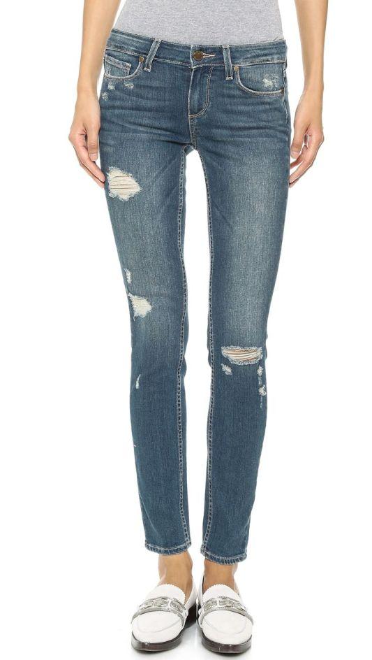 paige denim distressed jeans