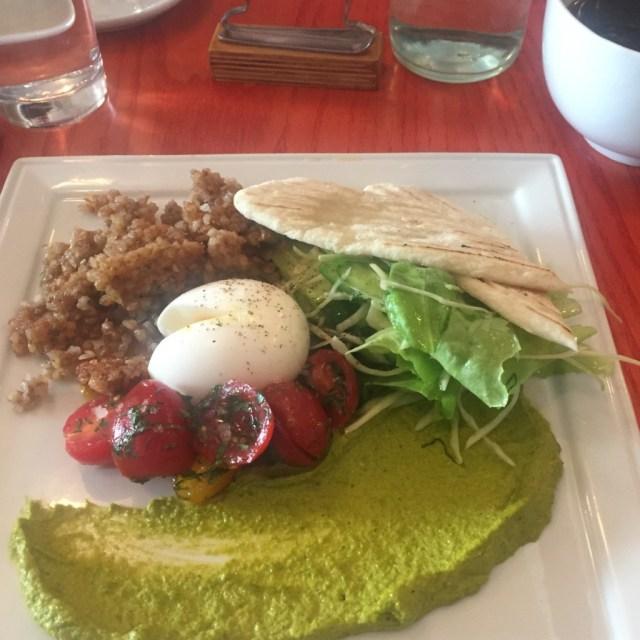 healthy vegetarian brunch montreal