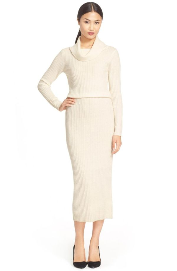 alice and olivia sweater dress