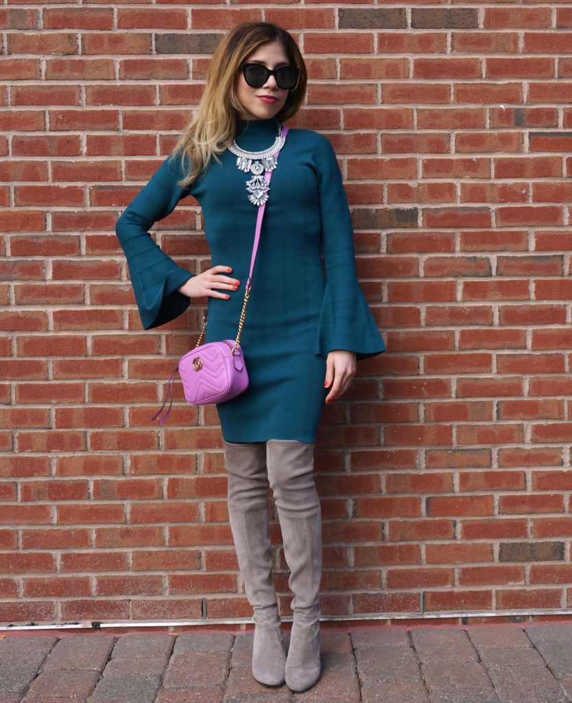 holiday-party-dress-bell-sleeves