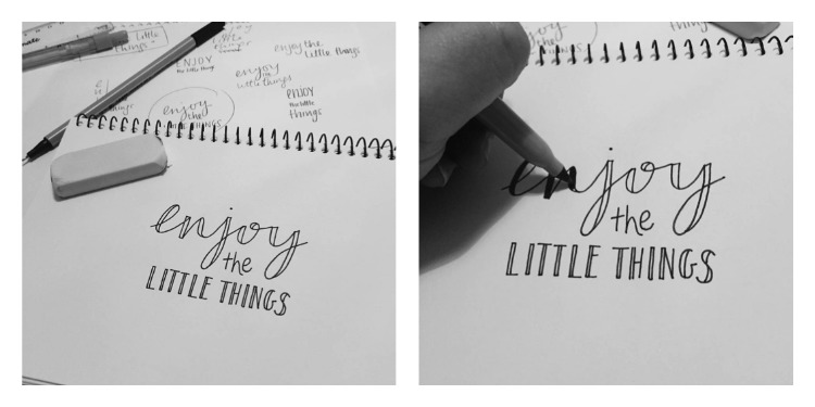 Easy Hand Lettering Styles