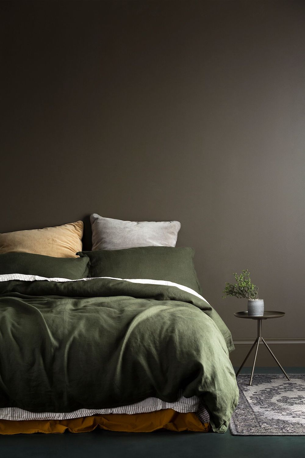 From dark and moody to stark and crisp discover the latest interior colour trends