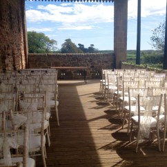Chair Cover Hire Sunderland Glider Swivel Mechanism Lace Sash At Newton Hall And High House Farm In Brewery Wedding