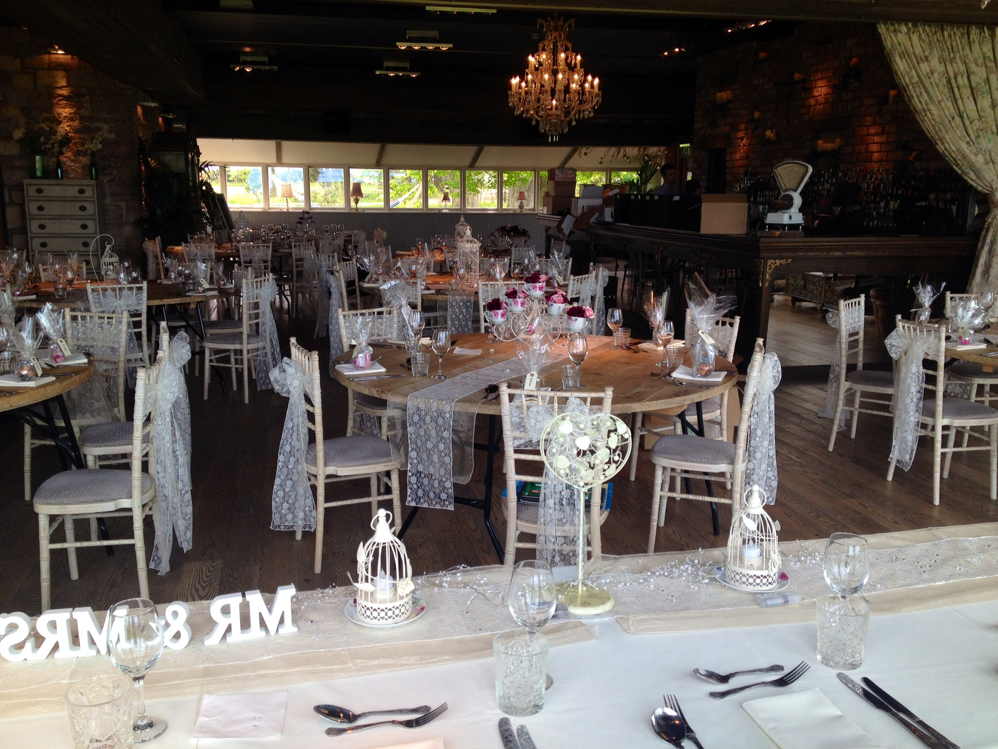 chair cover hire sunderland 2 set lace sash at newton hall and high house farm in wedding