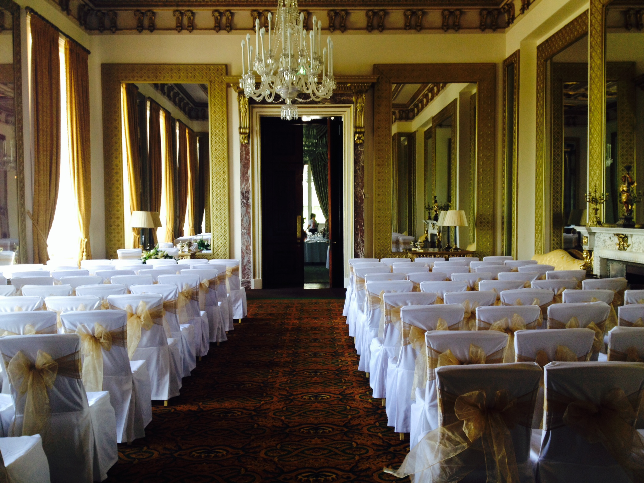 chair covers wedding hull drexel heritage dining table and 6 chairs linen for wynyard hall weddings in