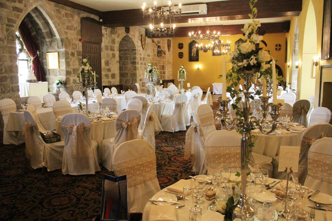 silver chair covers uk lawn with umbrella and wedding decorations at langley castlestyled & seated