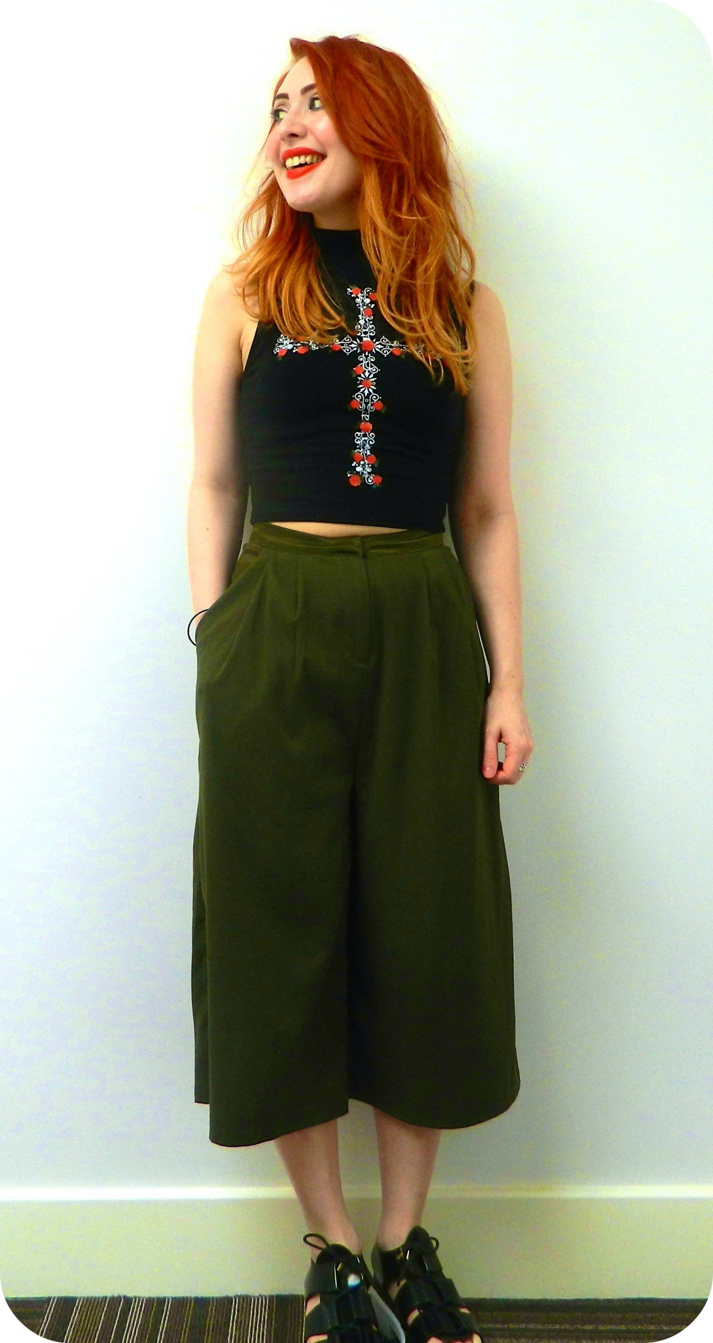Culotte What You Want: I love this look!