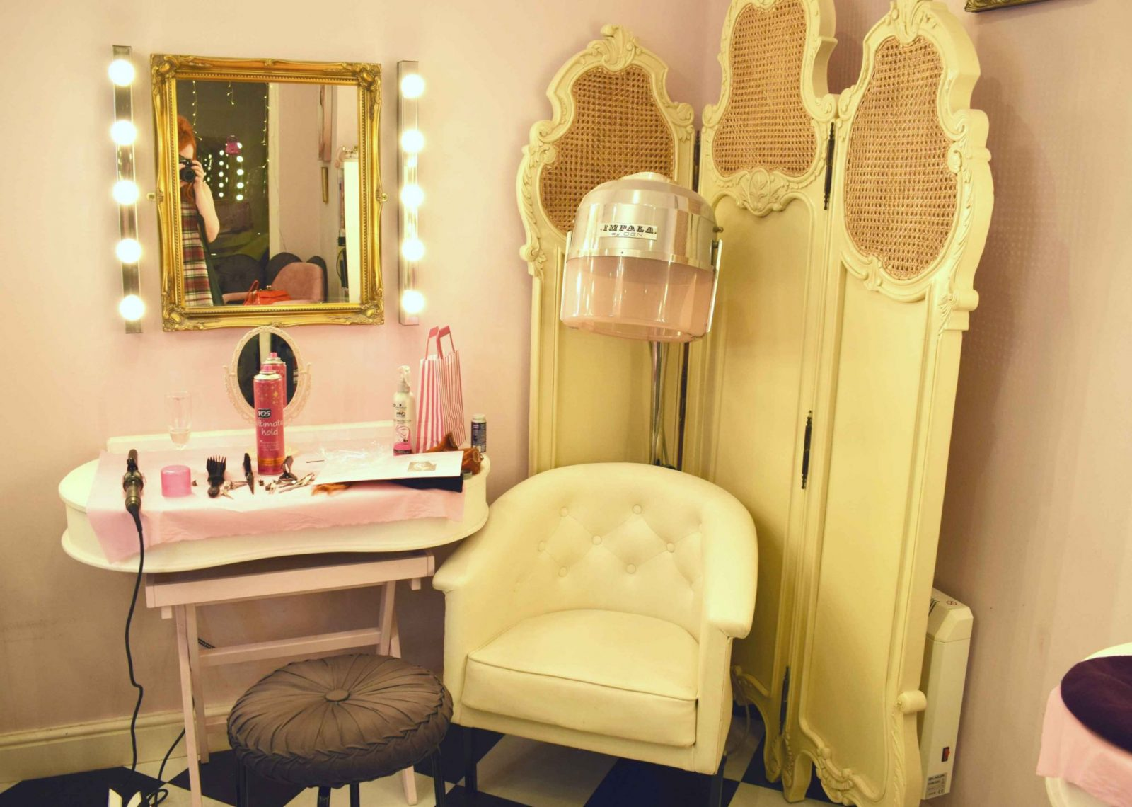 Inside The Vintage Beauty Parlour Manchester