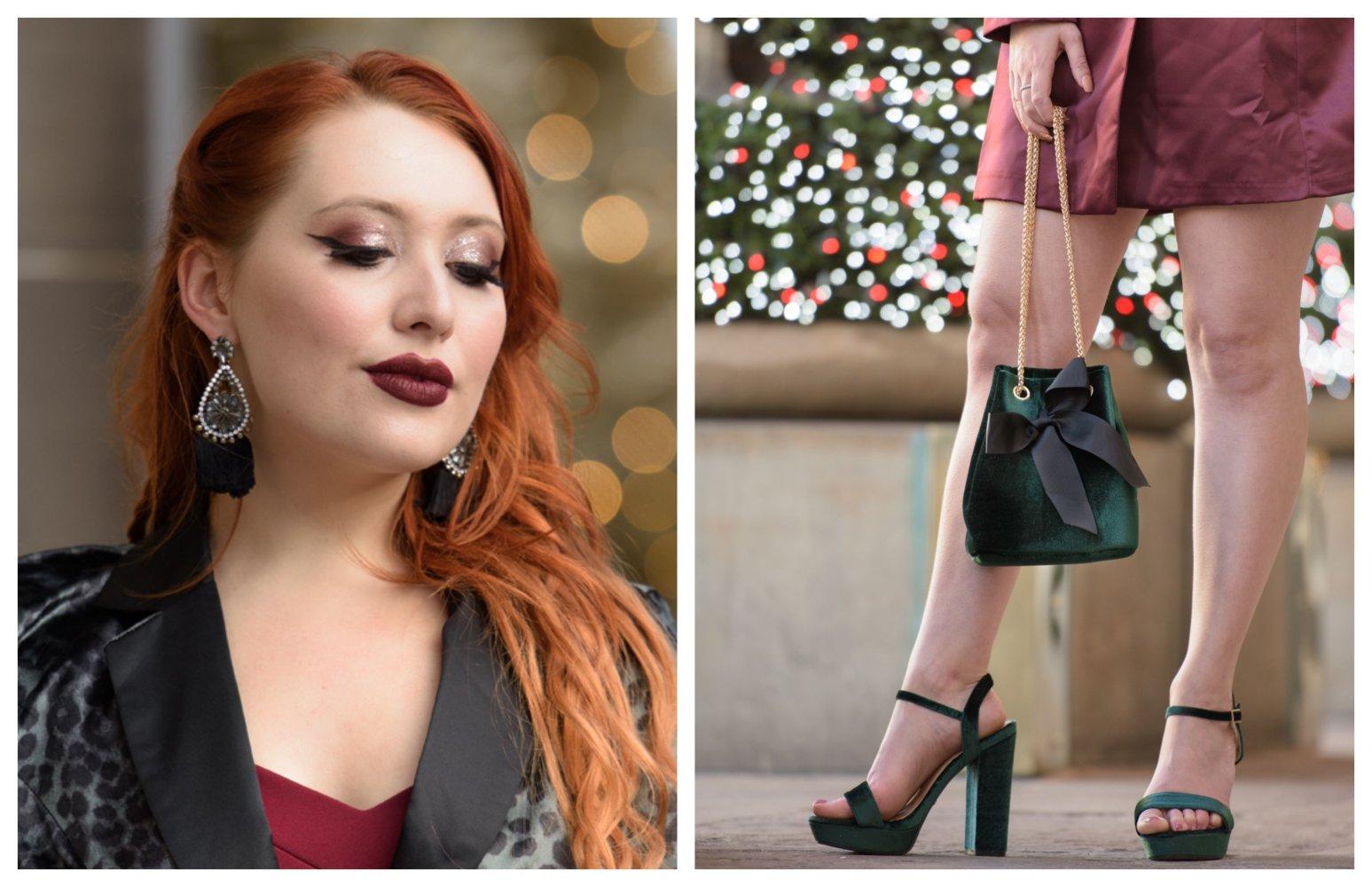 Scottish blogger Twenty-Something City Christmas party accessories