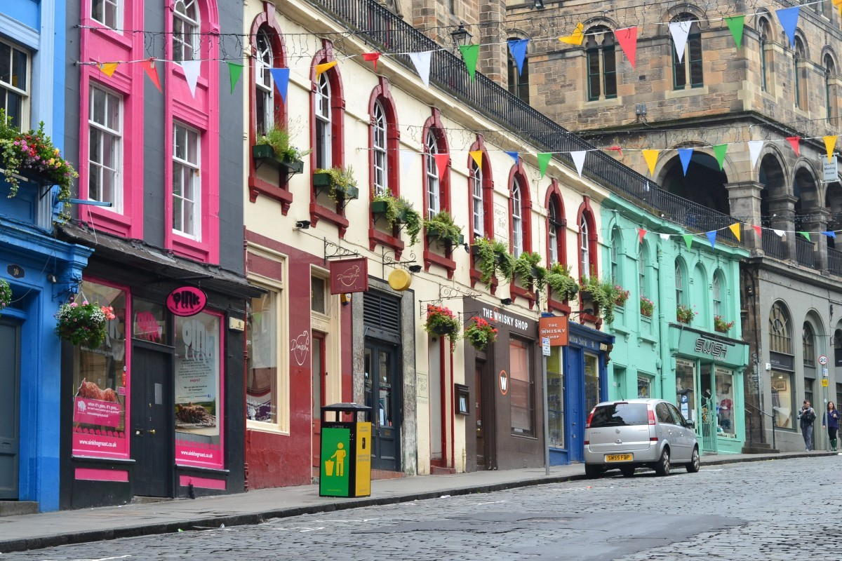 Victora Street Edinburgh independent shops