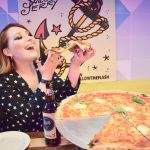 Sailor Jerry Edinburgh blogger Alice eats pizza at Civerinos Slice Edinburgh