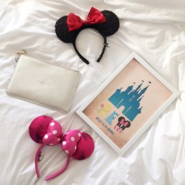 Minnie Mouse Ears, Disney Pic, Katie Loxton Bag