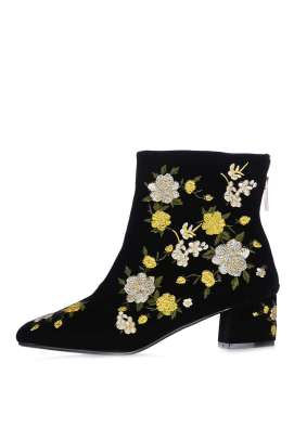 BLOSSOM Embroidered Boots- Now £30.00