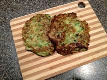 Zucchini Pancakes Styled Jess