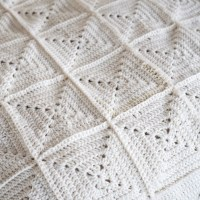 It's a Suprise! Neutral Crochet Quilt