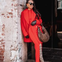 Trend Alert: Monochromatic Outfits - Red Edition