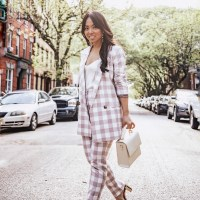 Summer Suiting: The Gingham Print Suit