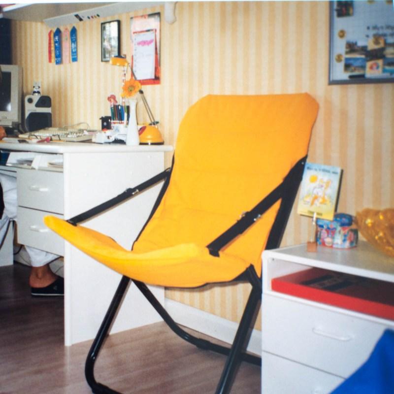 Kinderslaapkamer geel/blauw