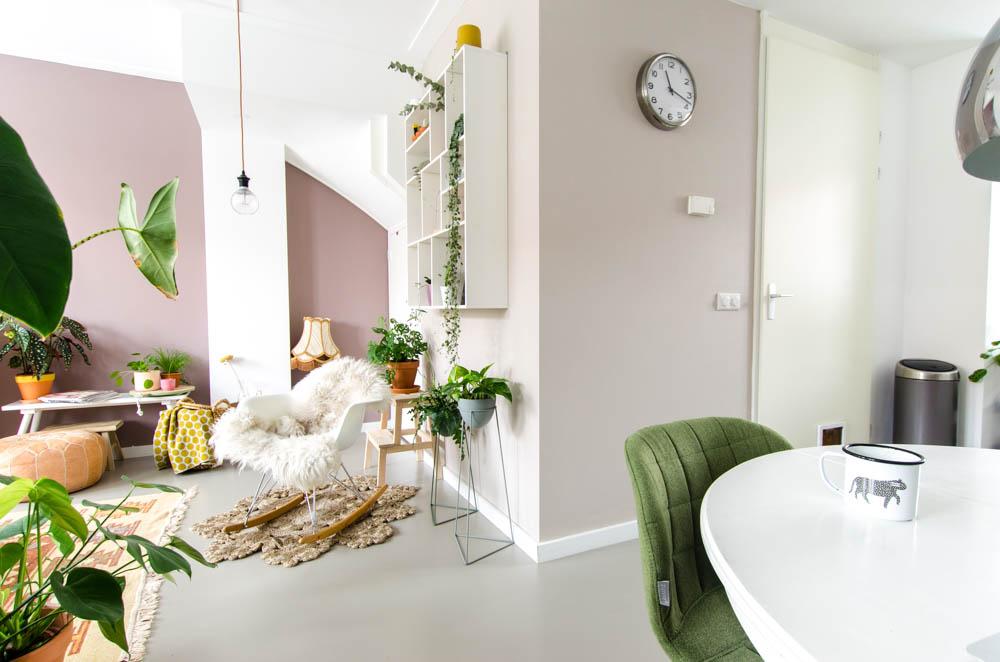Meer kleur in huis met urban taupe van flexa styled by sabine