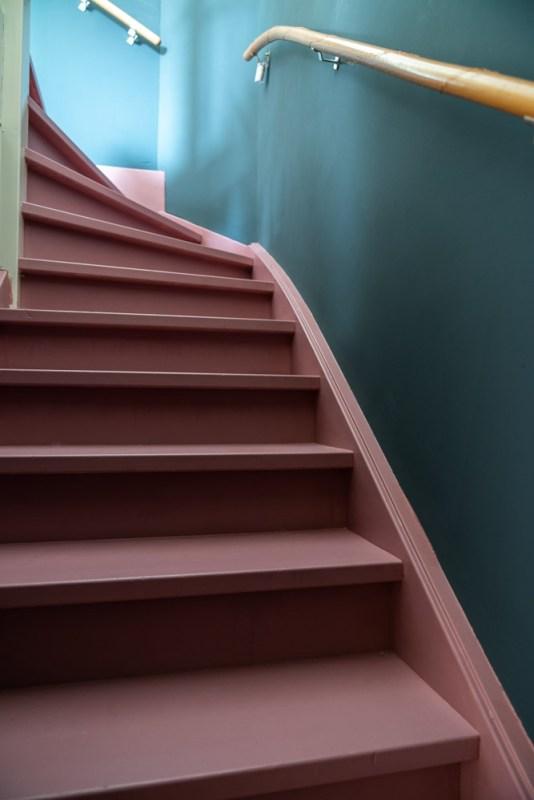 trap verven Histor trapverf