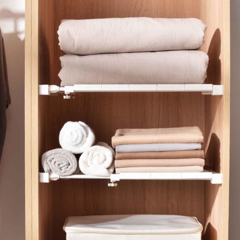 Extendable Wardrobe Cabinet Shelf Divider Style Degree Singapore
