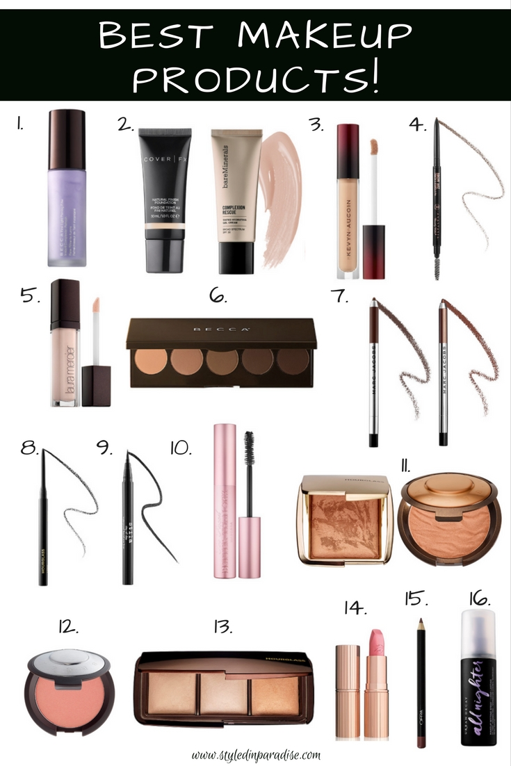 Best Makeup Products, holy grail makeup products, favorite makeup products, best beauty products