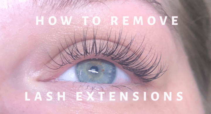 How To Remove Lash Extensions