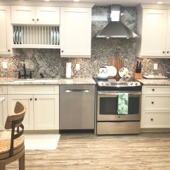 Wallpaper Kitchen Backsplash Appliance Ratings Diy Subway Tile Styled With Lace