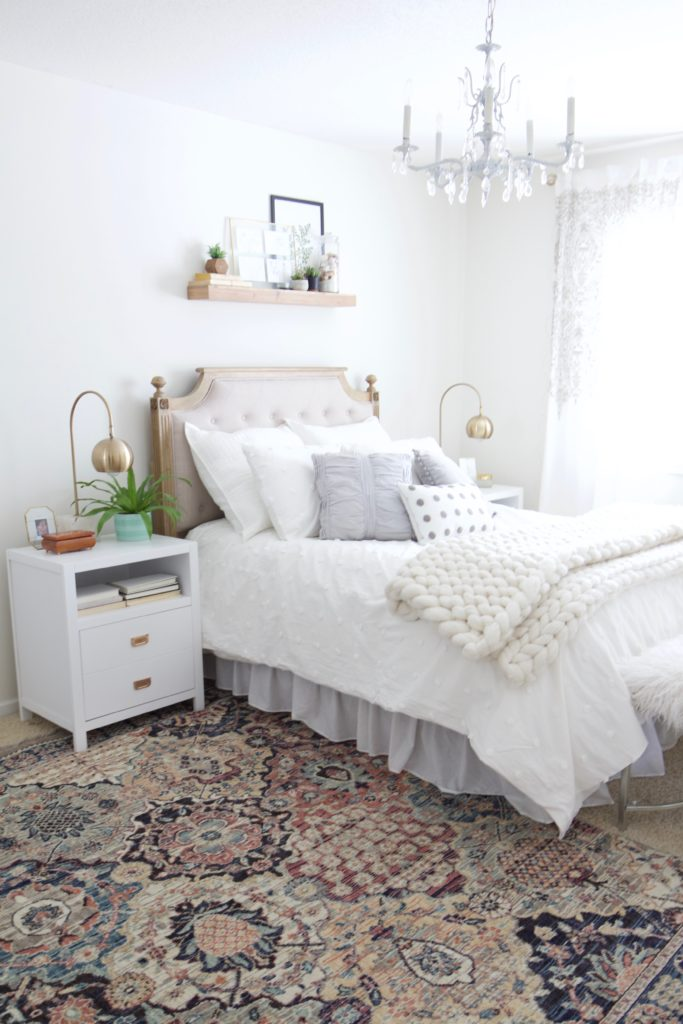 Girls Bedroom Makeover With Birch Lane Styled With Lace