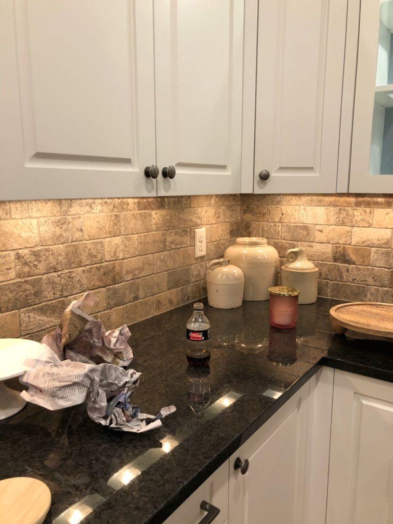 new lake house kitchen makeover phase 1