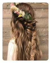 boho hairstyles curly
