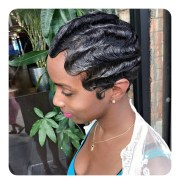 stylish finger waves hairstyles