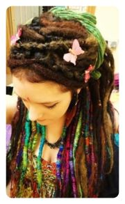 elegant dreadlock hairstyles